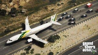 GTA 5 - Realistic Highway Emergency Landing (HD)