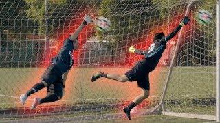Video Two Goalkeeper Challenge MP3, 3GP, MP4, WEBM, AVI, FLV Oktober 2018