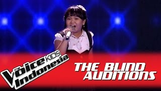 "Video Shanti ""Blank Space"" I The Blind Auditions I The Voice Kids Indonesia GlobalTV 2016 MP3, 3GP, MP4, WEBM, AVI, FLV Februari 2018"