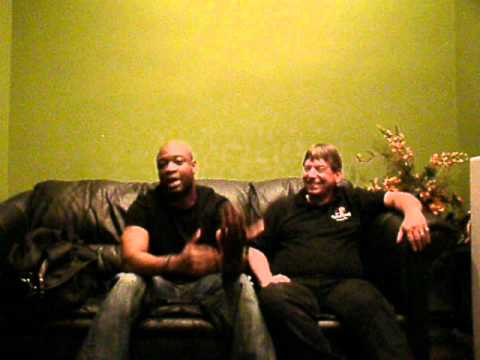 Comedian Warren B. Hall and Rev. Robert Ashley Beagle video invitation to Kimberly A. Beagle