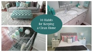 10 Habits for Keeping a Clean House