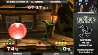 Shroomed vs Alan in a set you'll never forget