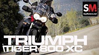 2. Prueba Triumph Tiger 800 XC SE 2014
