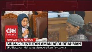 Video JPU Tuntut Aman Abdurahman Hukuman Mati MP3, 3GP, MP4, WEBM, AVI, FLV Agustus 2018