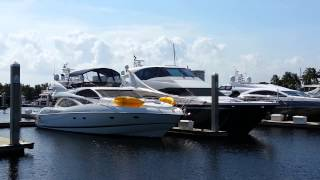 Marina Bahia Mar em Fort Lauderdale - june 15 2013.