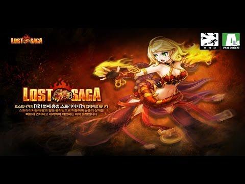Korean Lost Saga Striker First Look (Hero 121, Legendary)
