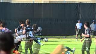 Imagens do goleiro Filippo Souza captadas por fotógrafos profissionais durante o jogo da final do campeonato Disney Cup 2015...