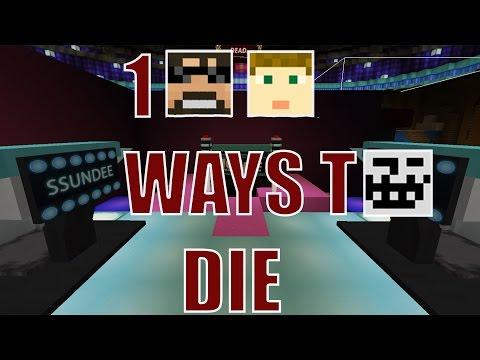 Minecraft -- 100 WAYS TO DIE HAIR DYE CHALLENGE!?!? (видео)