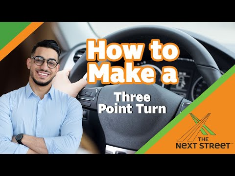 How to Make a 3-Point Turn