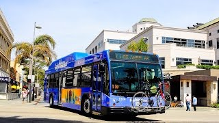 Audio clip of Santa Monica Big Blue Bus Gillig Low Floor CNG #1331 in Downtown Los Angeles operating on Route R10 Express to Downtown Santa MonicaPowertrain: Cummins ISL-GTransmission: Voith D864.5