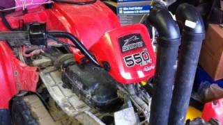 4. how to make a snorkel for your 550 h1 arctic cat ( front )