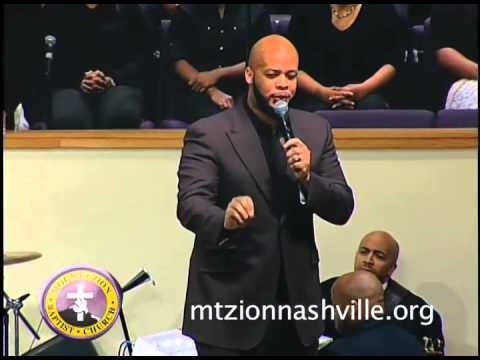James Fortune ministering at Mt. Zion Church Nashville Stellar Week 2014