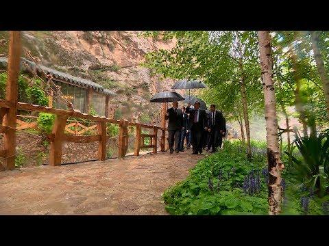 Рахмон провел экскурсию для Лукашенко по своим загородным резиденциям \Варзоб\ и \Такоб\ - DomaVideo.Ru