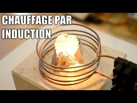 Four à induction : Incroyables Expériences [81] Chauffage par induction / Induction heater DIY