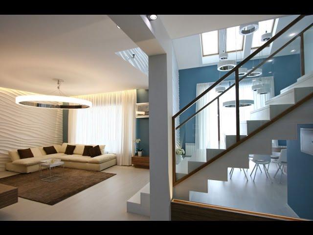 Diseo de casa moderna de dos plantas ms planos for Planos casa dos plantas modernas