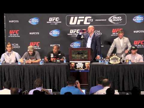 UFC 173 Post-Fight Press Conference (Full Replay)
