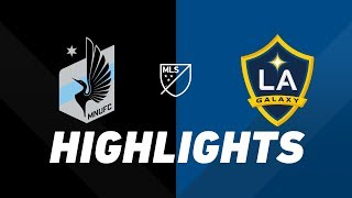 Minnesota United FC vs. LA Galaxy   HIGHLIGHTS - April 24, 2019 by Major League Soccer