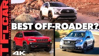 2020 Toyota RAV4 TRD Offroad vs Jeep Cherokee vs Honda Passport - This OR That Car Ep.1 by The Fast Lane Car