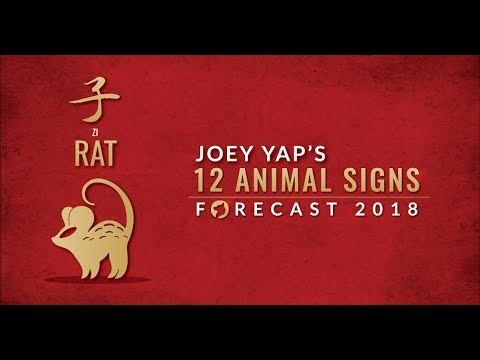 2018 Animal Sign Forecast: RAT [Joey Yap]