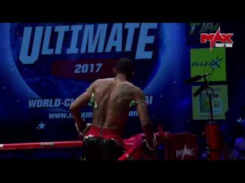 Yllättävä loppu Muay Thai -matsissa