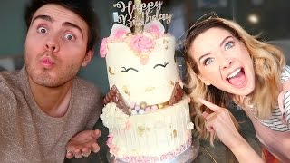 Video ZOE'S BIRTHDAY SURPRISE! MP3, 3GP, MP4, WEBM, AVI, FLV April 2018