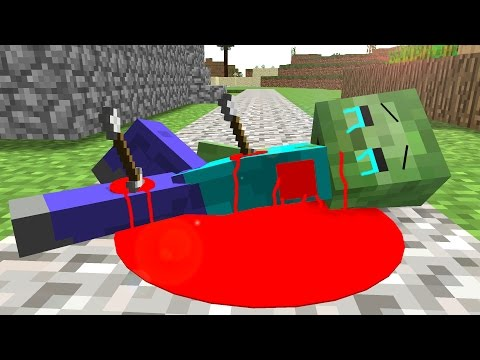 Zombie Life 2 Craftronix Minecraft Animation