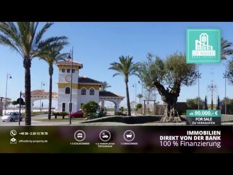 Apartment/Ferienwohnung große Terrasse am Golfplatz Costa Blanca 100% finanziert von Bank kaufen