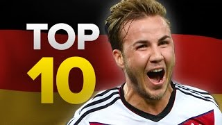 Top 10 Most Expensive German Signings