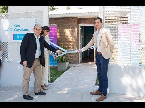 Se inauguró el centro de atención primaria de la salud en el barrio San Cayetano