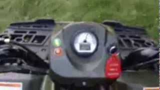 10. Polaris Sportsman 90 ATV Quick Look + Drive