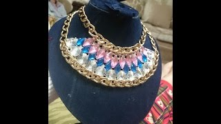 How to Make Handmade Jewelry - Handmade Necklace - Tutorials Learn to design a cute necklace full of much color, fashion, creativity and new trends of today;...