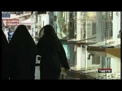 'Celeste d'Arabia, vita negli Emirati' servizio di Barbara Carfagna per TV7