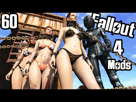 Fallout 4 Mod Review 60 - SLAVERY MOD?? From Lover's Lab (WIP) - Boobpocalypse