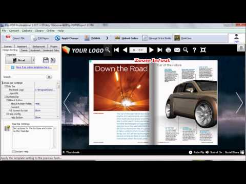 How to share flipbook via email with Flip PDF Pro