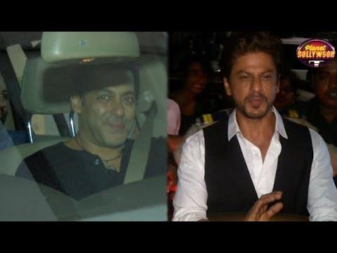 Shahrukh Khan Attends Salman Khan's Tubelight Scre