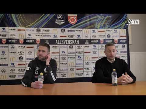 Presskonferens: Degerfors - ÖSK