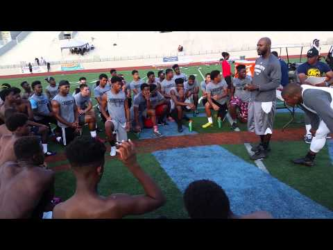 Drayton Florence and Cam Newton 7on7 Atlanta June 7, 2015