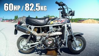10. SUZUKI PV 60hp 82kg 450cc