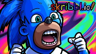 Skribbl.io Funny Moments - These Sonics Look SICK! by Vanoss Gaming