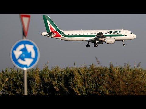 Σε οριακή κατάσταση η Alitalia-Αγωνιώδεις προσπάθειες να σωθεί…