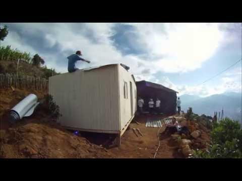 Así es la construcción de una vivienda de TECHO