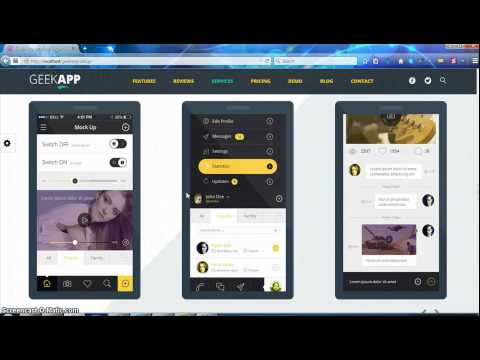 GeekApp WordPress Theme installation, Setup & Demo xml importer – part 1