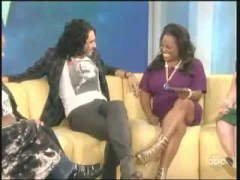 "Russell Brand Interviewed On ""The View"""