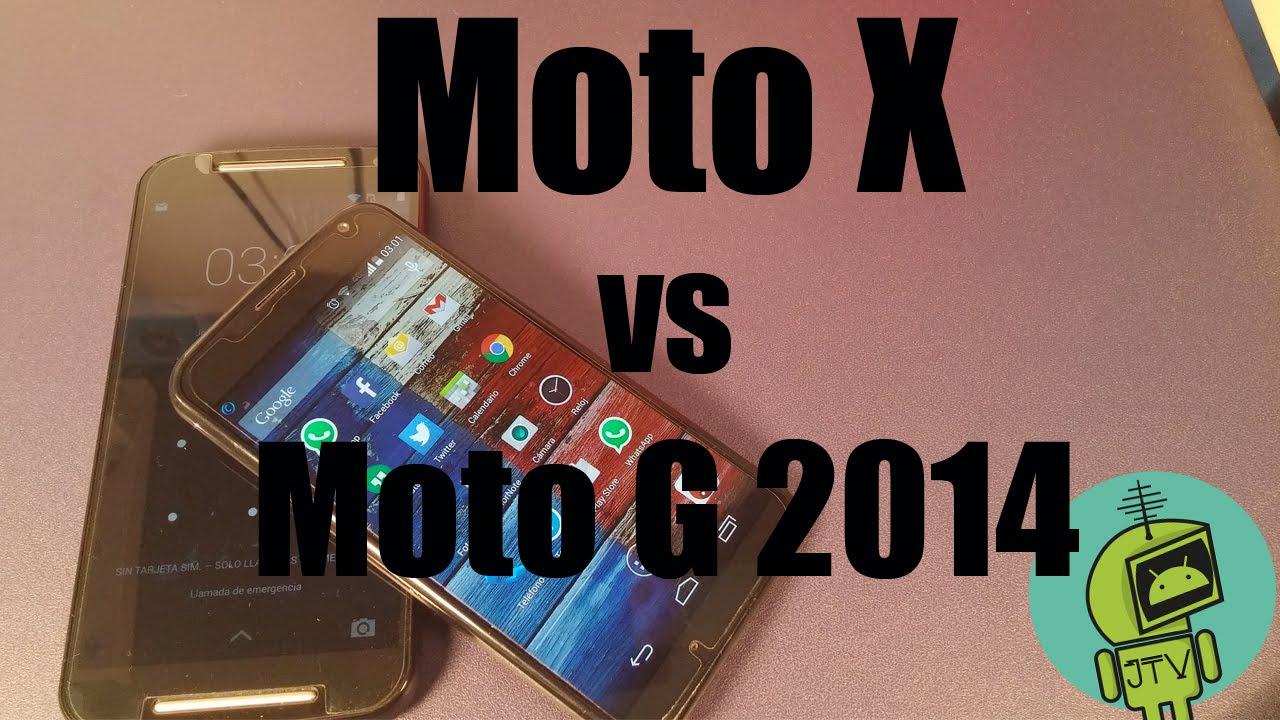 Descargar Moto X1 vs Moto G2/ En Español JosechTV para Celular  #Android