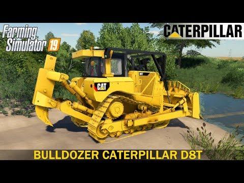 BullDozer CATERPILLAR D8T SDM v1.0