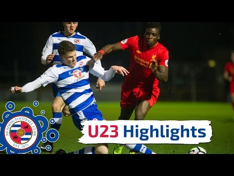 U23 Highlights: Reading 1-5 Liverpool, Premier League 2, Monday 6th March 2017