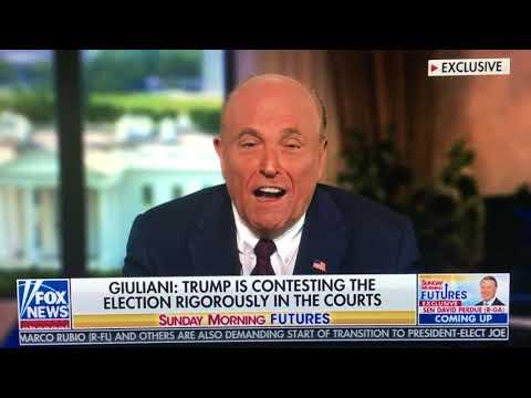 Rudy Giuliani tells Maria Bartiromo how election was stolen from President Trump