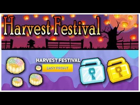 HOW TO PREPARE FOR HARVEST FEST pt.1 2018 | GROWTOPIA (видео)