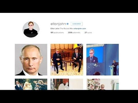 Διαψεύδει το Κρεμλίνο την τηλεφωνική επικοινωνία Βλαντιμίρ Πούτιν- Έλτον Τζον