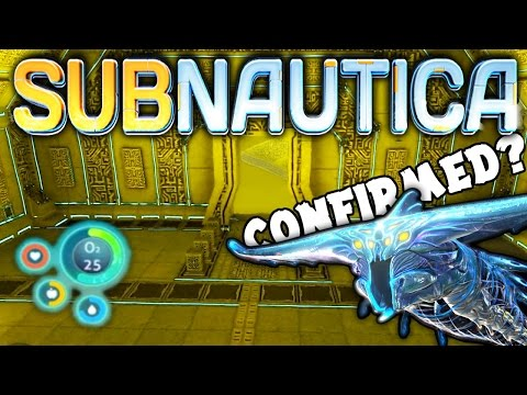 Subnautica - GHOST LEVIATHAN OFFICIALLY CONFIRMED? PRISON INTERIOR UPDATE & NEW HUD ( Gameplay ) (видео)